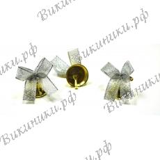 Колокольчик для выпускника с серебряной GOLD ленточкой