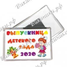 Магниты - Выпускница детского сада 2021г